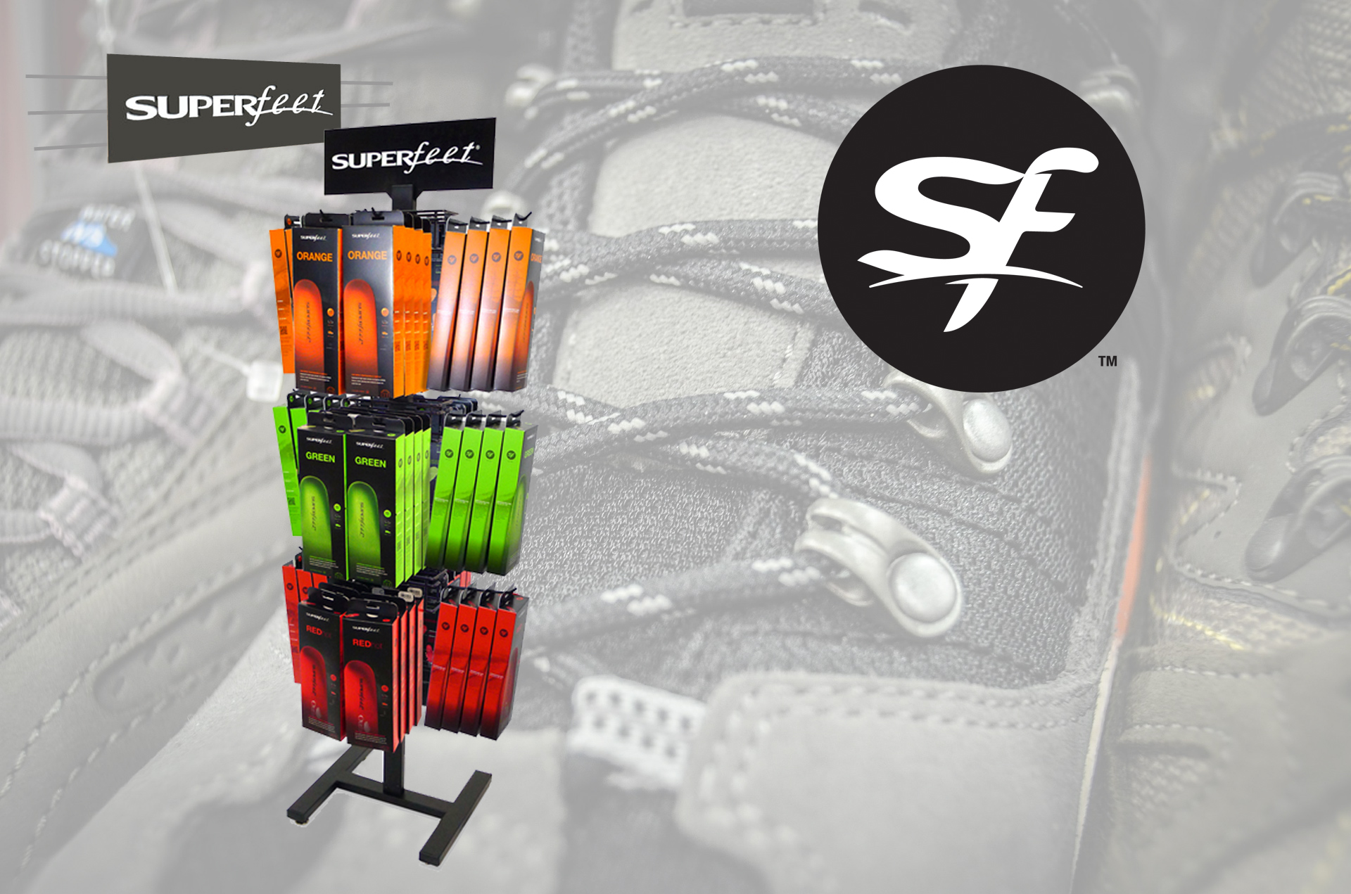 Superfeet Expands Display Family