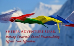 Corporate Social Responsibility Efforts: How Sherpa Adventure Gear Makes It Look Effortless