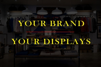 Get Your Displays In Line With Your Brand