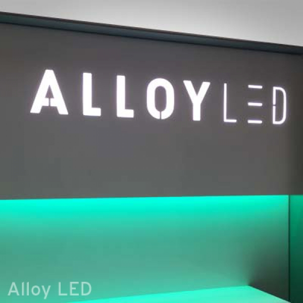 Alloy LED Retail Display
