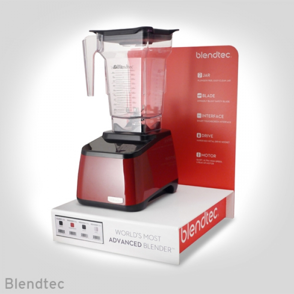 Blendtec Retail Display