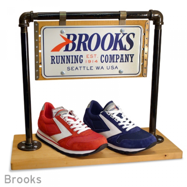 Brooks Retail Display