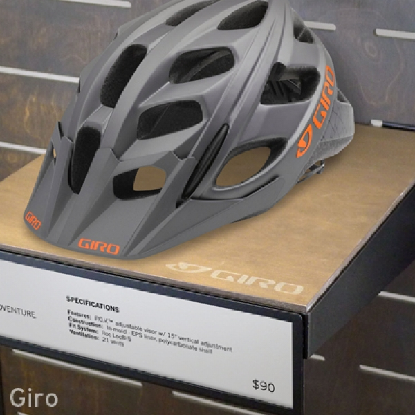 Giro Retail Display