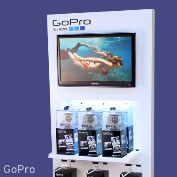 GoPro Retail Display
